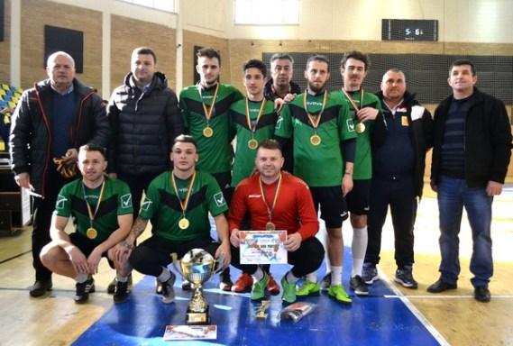 Campionatul Judetean de Futsal 2018 a ajuns la final - CS INEU Campioana de Futsal 2018