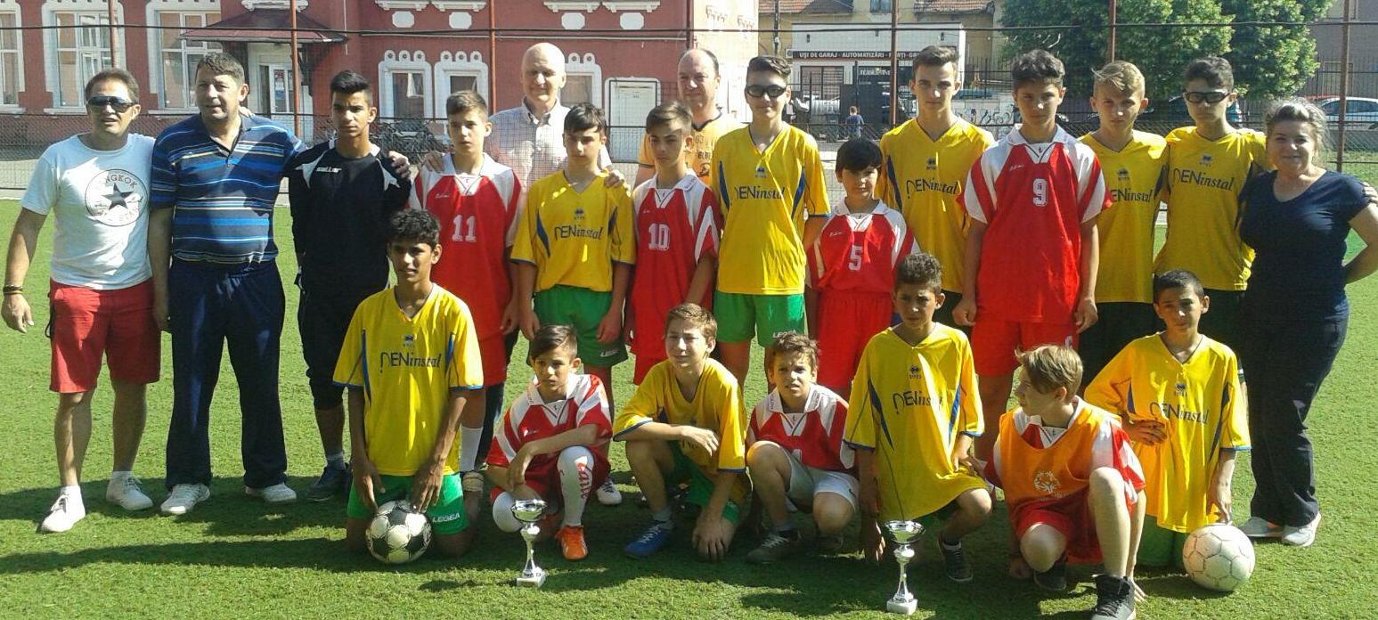 Special Olympics - Campionatul National de Fotbal Unificat pentru echipe in 7 ARAD