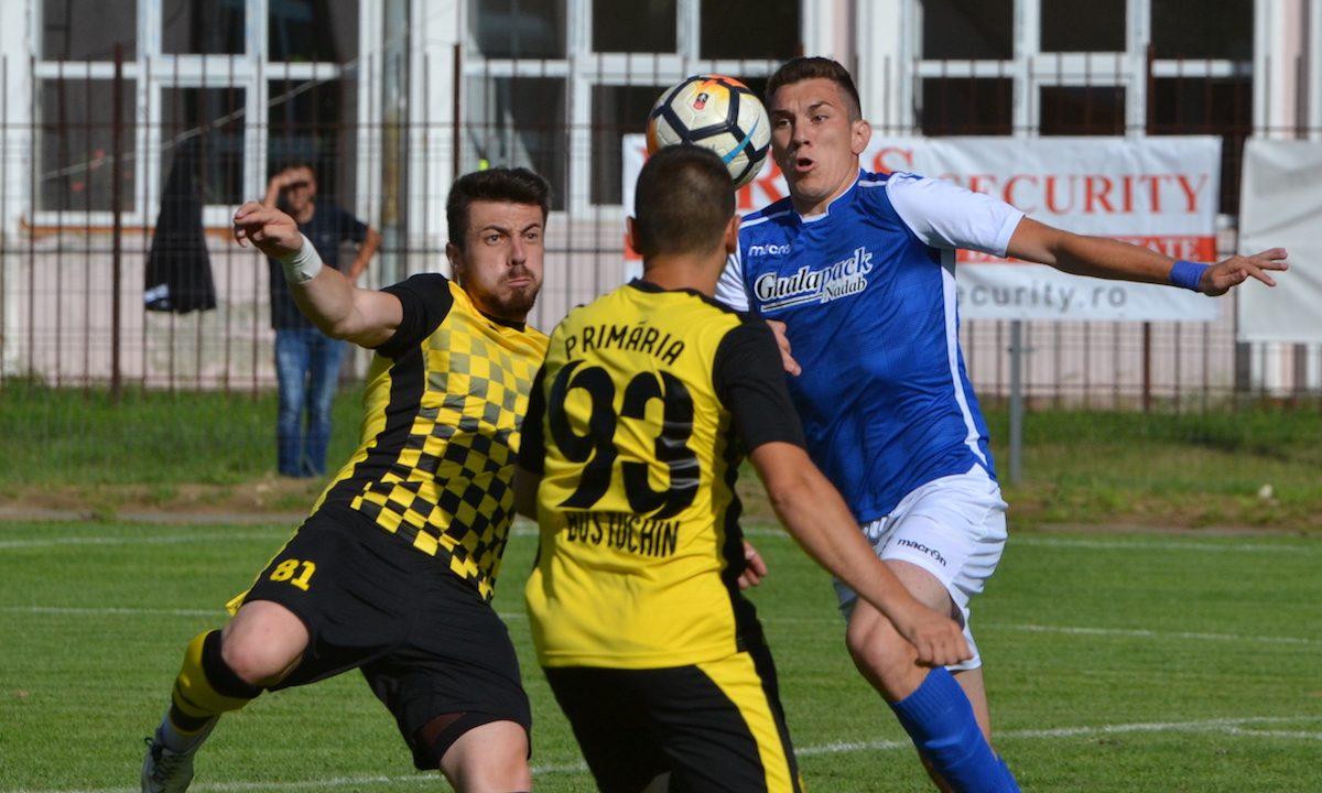 Baraj de promovare în Liga a treia: Crișul Chișineu-Criș - Petrolul Bustuchin 4-0
