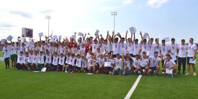 Campioanele primei ediții a Cupei Aradului și-au luat medaliile și…aplauzele în pauza partidei dintre UTA și Academica Clinceni