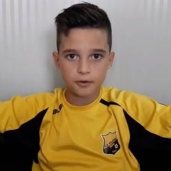 Deyan Leș, la nici 10 ani, poate fi unul dintre pariurile fotbalului arădean