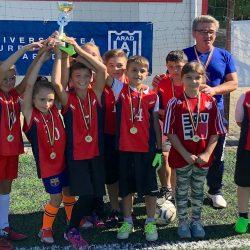 """""""Caius Iacob"""" a câştigat Junior Cup 2018 la fotbal mixt"""