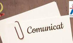 Comunitetul Executiv: Comunicat din 10.04.2019