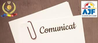 Comunicat Comitetul Executiv 20.05.2020