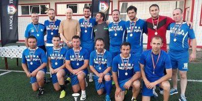Profesorii au câștigat Cupa Firmelor și Instituțiilor, Mărcuș – omul finalei cu Penitenciarul