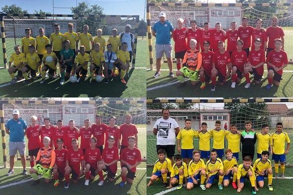 Cupa Aradului: finalistele la juniori D - Atletico, Viitorul, UTA și Socodor