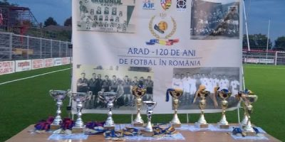 Cupa Aradului: Festivitatea de premiere juniori și old boys +FOTO+VIDEO
