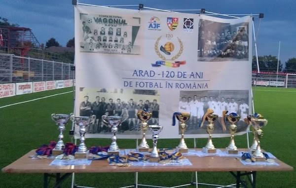 Cupa Aradului: Festivitatea de premiere juniori și old boys +FOTO+VIDEO